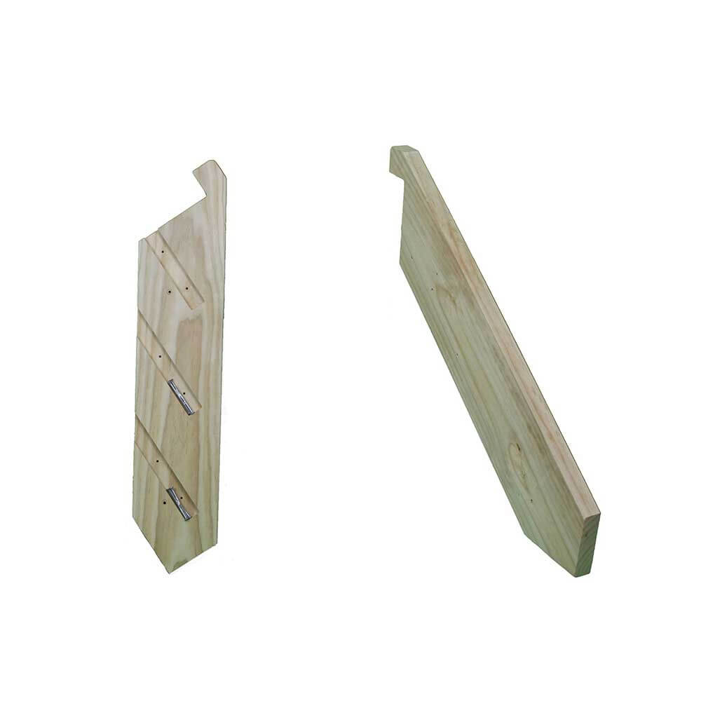 1-18 Tread Pair Domestic Use Stringers with Batten Screws
