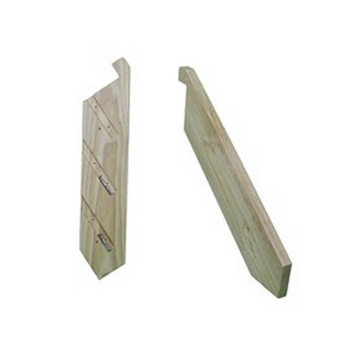 1-18 Tread pair domestic use stringers with Batten screws – KCSTAIR1