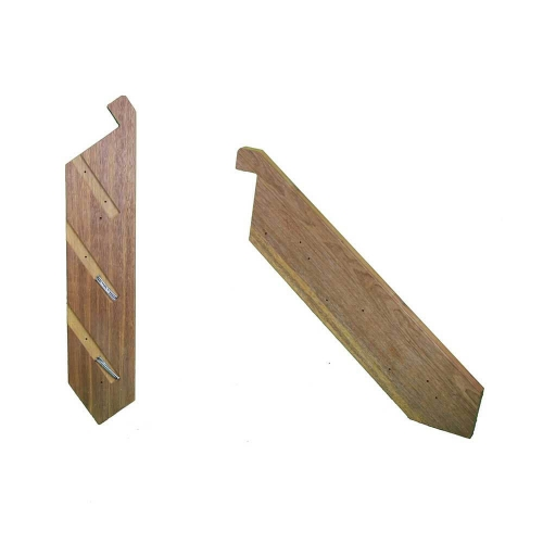 1-18 Tread pair domestic use stringers with Batten screws – KMSTAIR1