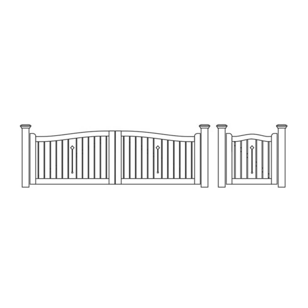 Cecunda Gate