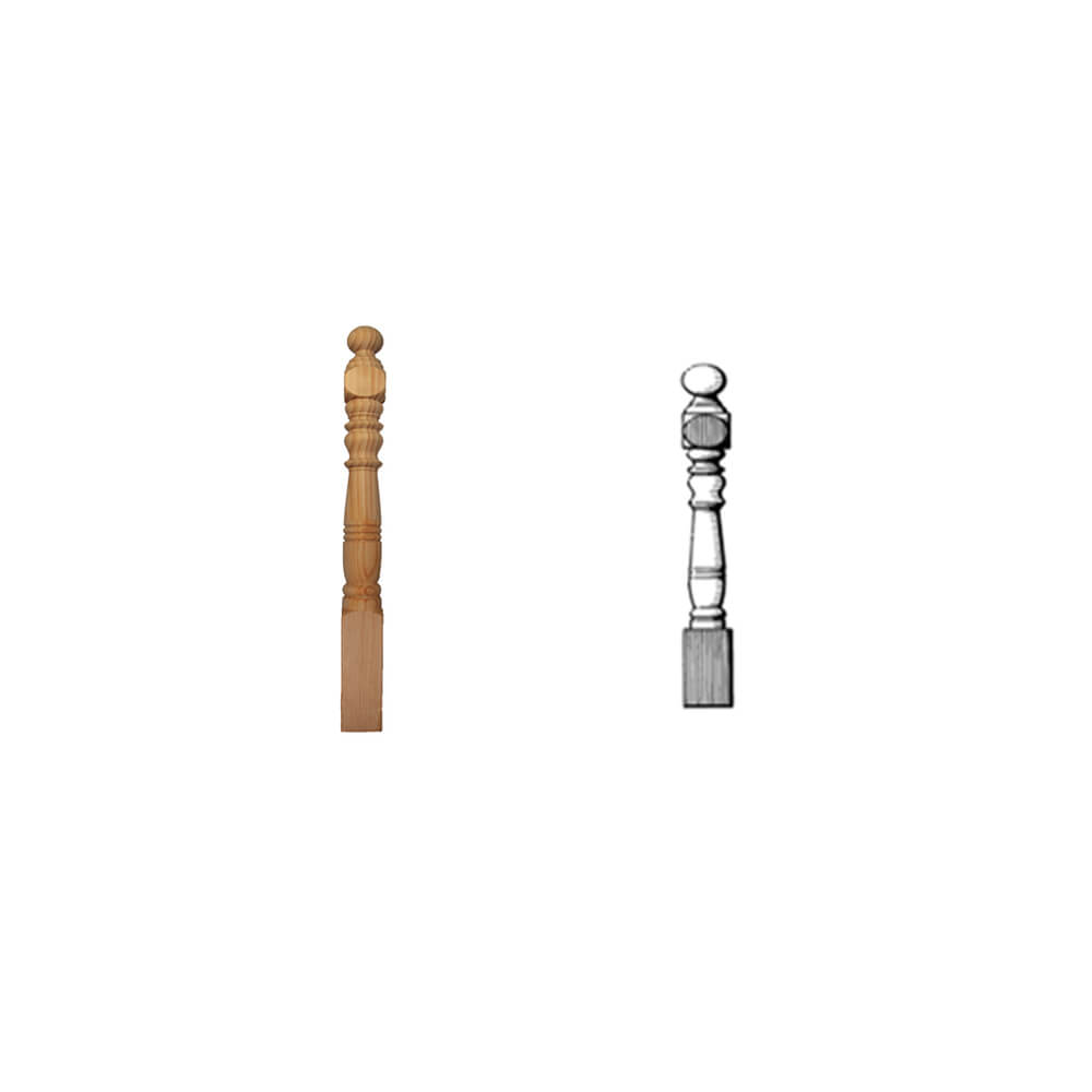 Newel Posts N4A