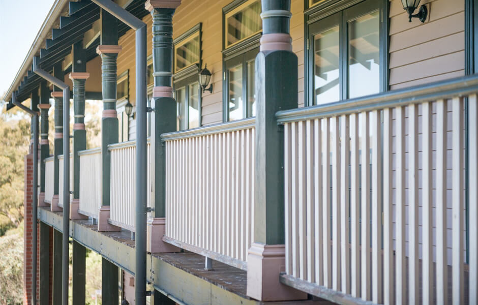 Timber Verandah Posts #11