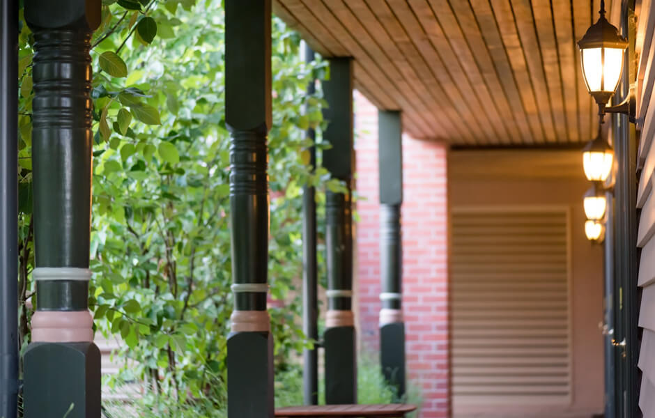 Timber Verandah Posts #13