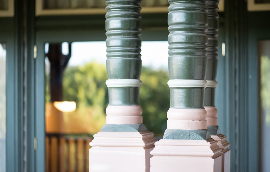 Timber Verandah Posts #2