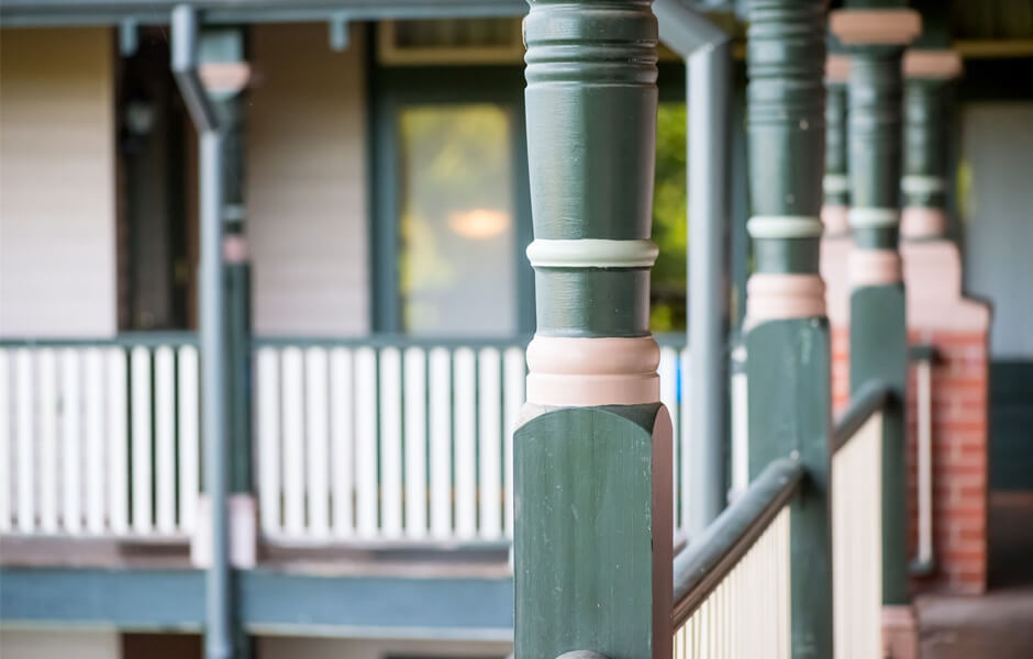 Timber Verandah Posts #5