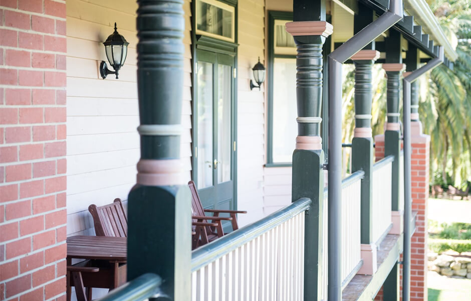 Timber Verandah Posts #7